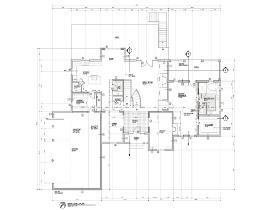 Architectural Drawing Set studio-render - cad drafting
